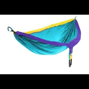 ENO Doublenest Hammock WITH STRAPS in blue